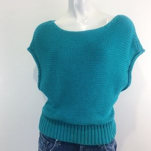 ANTHROPOLOGIE | MOTH | MADE IN ITALY | KNITTED TOP